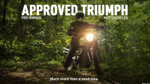 Triumph Motorcycles launches official used motorcycle programme in India