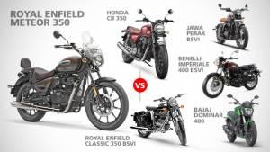 2020 Royal Enfield Meteor 350 rivals: Honda CB 350 vs Benelli Imperiale 400 vs Jawa Perak vs Bajaj Dominar 400 vs Royal Enfield Classic 350