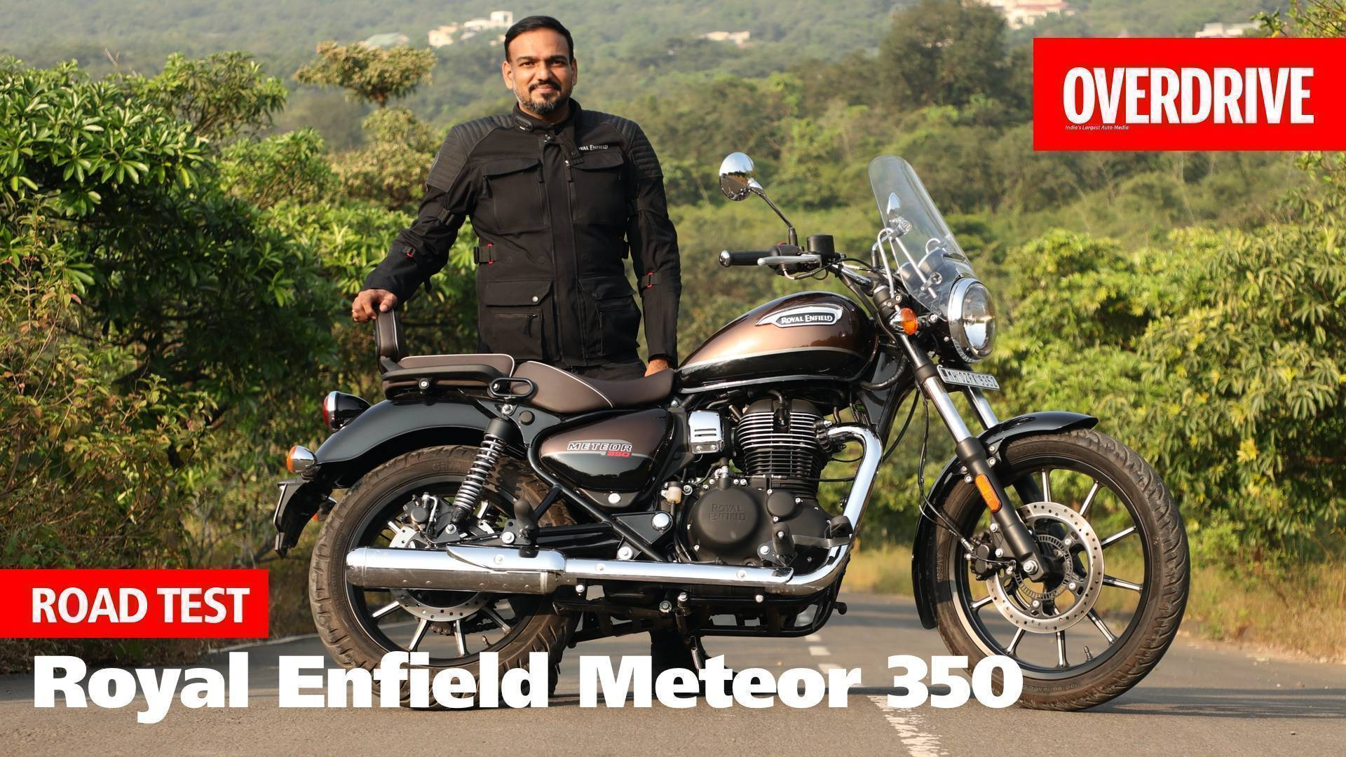 Royal Enfield Meteor 350 road test review - promises more than just a new cruiser! - Video