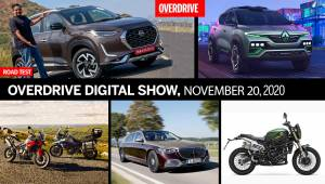 OVERDRIVE Digital Show, 20th November, 2020