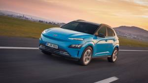 Facelifted Hyundai Kona Electric revealed internationally