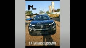 Tata Harrier Camo edition spied ahead of launch