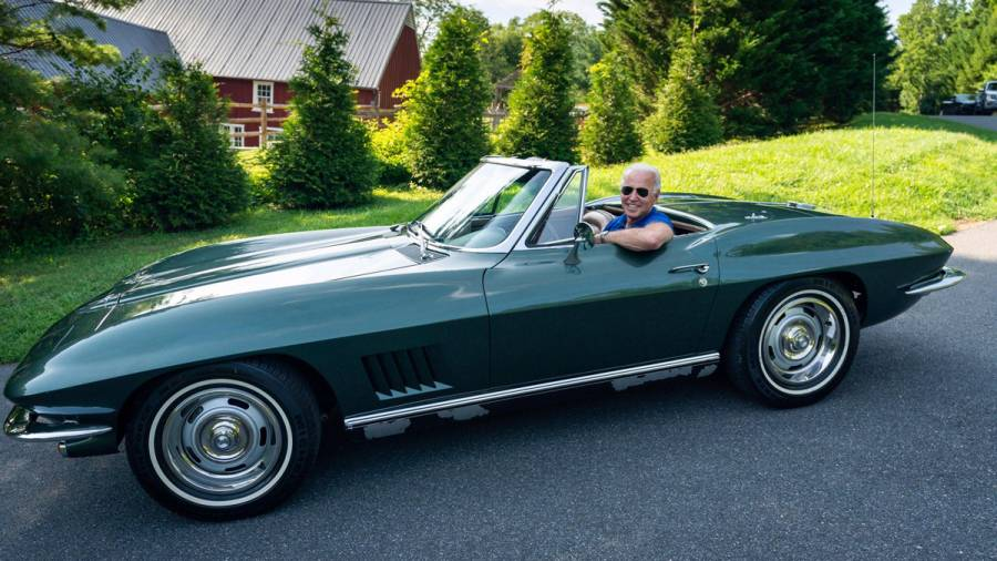 US President-Elect Joe Biden is a complete car guy