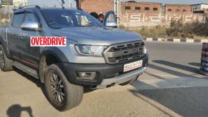 Ford Ranger Raptor spotted undisguised in India ahead of 2021 launch