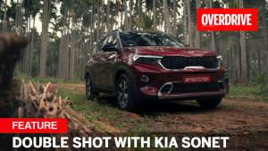 Special feature | Double Shot with Kia Sonet