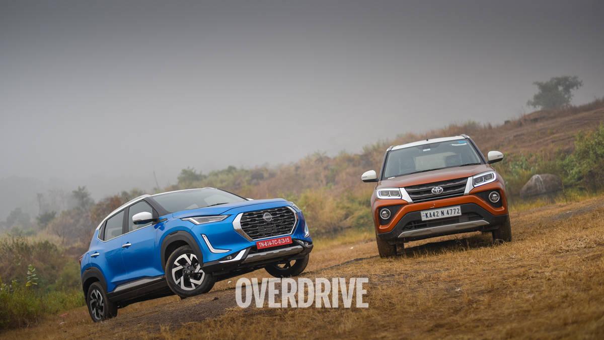 Comparison review: Nissan Magnite vs Toyota Urban Cruiser