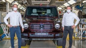 Mercedes-Benz G-Class crosses 4 lakh production milestone