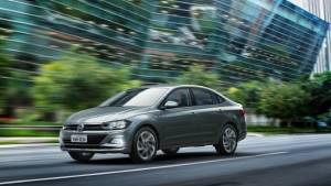 Volkswagen Virtus sedan spotted testing in India