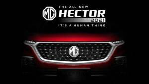 Live updates: 2021 MG Hector facelift launch, price, updates, specifications, features