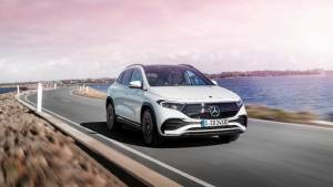 Mercedes-Benz EQA electric compact SUV revealed