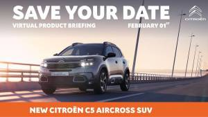 India-spec Citroen C5 Aircross to be revealed on Feb 1