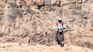 Dakar 2021: Both Hero MotoSports riders break through into top 20 overall in Stage 8