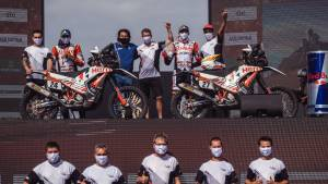 Dakar 2021: Hero MotoSports team finishes Dakar with both riders in top 15 overall