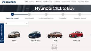 Hyundai streamlines its 'Click-to-buy' website