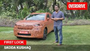 First Look - Skoda Kushaq