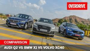 Audi Q2 vs BMW X1 vs Volvo XC40 comparo