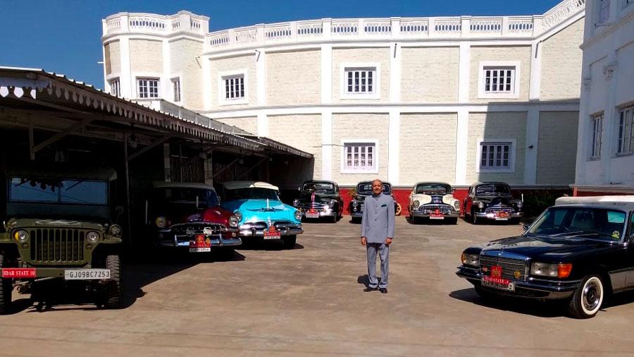 Idar Car Collection at the Dowlat Villas Palace