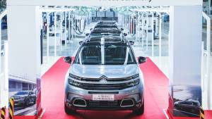 Citroen C5 Aircross production begins in India, engine-gearbox details revealed
