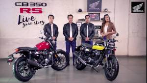 2021 Honda CB350RS launched in India at Rs 1.96 lakh, deliveries from March