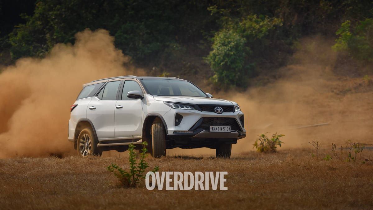 2021 Toyota Fortuner Legender road test review - all about the image, glitz & glamour!