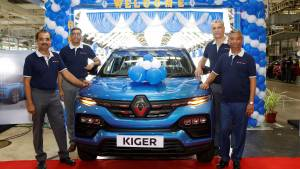 Upcoming Renault Kiger series production begins in India