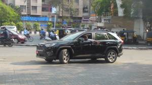 Toyota RAV4 spotted testing in India ahead of expected launch