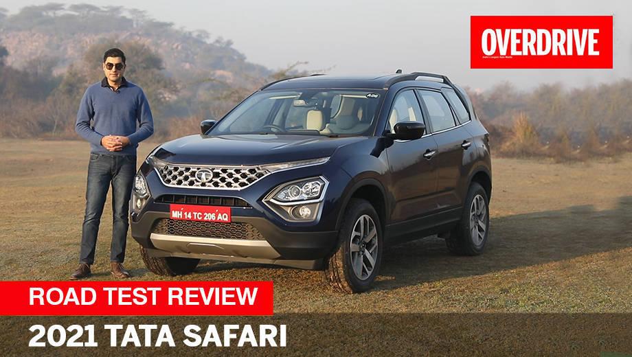 2021 Tata Safari road test review -- Best three-row SUV in India?