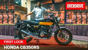 First Look | Honda CB350RS - The Retro Cool Roadster