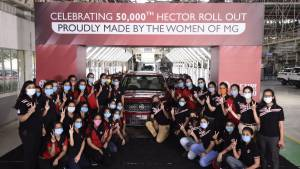 MG Hector production crosses 50,000 unit milestone