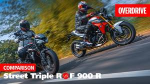 Triumph Street Triple R vs BMW F 900 R