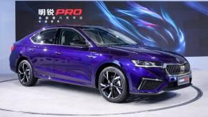 Long-wheelbase Skoda Octavia Pro debuts in China