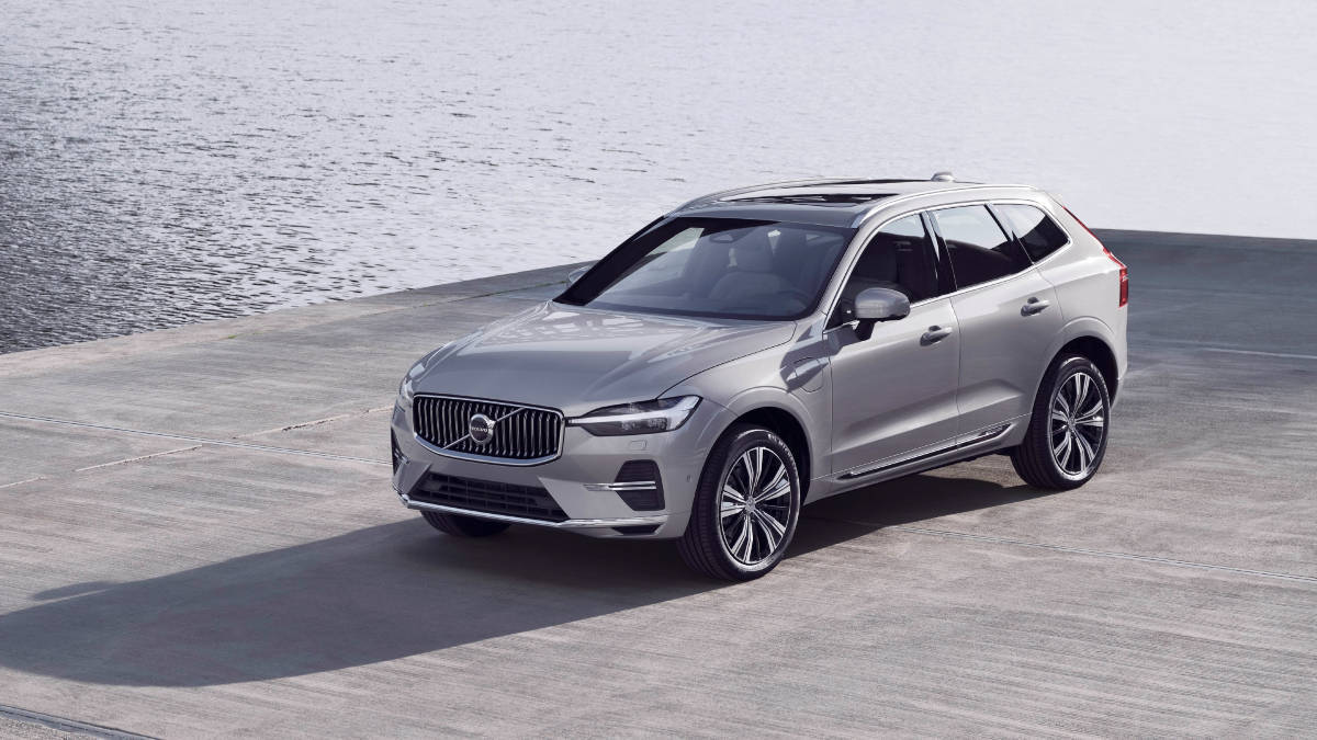 Volvo XC60 facelift front