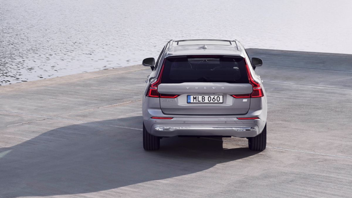 Volvo XC60 facelift rear