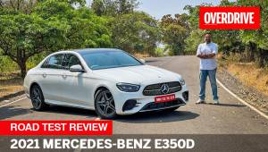 2021 Mercedes-Benz E-Class E 350 d road test review