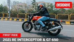 2021 Royal Enfield Interceptor 650 and Continental GT 650 review - new colours & wheels