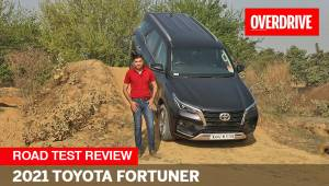 2021 Toyota Fortuner road test review