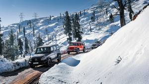 If hell freezes over... Snow hunting in the Jeep Wrangler Rubicon, Mercedes-Benz G-Wagon, Land Rover Defender