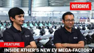 Inside Ather's new EV mega-factory with Tarun Mehta and Swapnil Jain