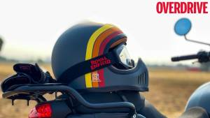 Royal Enfield Make-it-Yours gear and the Urban Trooper helmet review