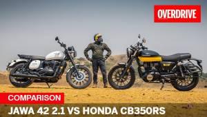 2021 Jawa 42 2.1 vs Honda CB350RS - which sporty retro should you choose?