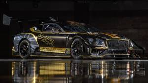 Bentley cements commitment to renewable fuels, with bio-fuel powered racecar