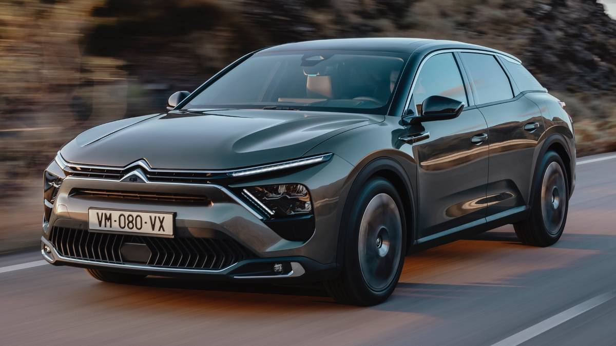 Citroen C5 X estate unveiled, will be company's flagship