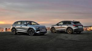 2021 Audi Q4 e-tron electric SUVs debut with up to 520 km range