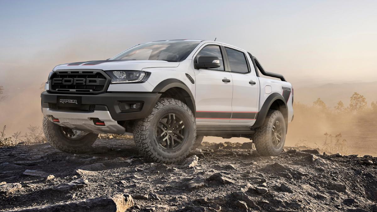 2021 Ford Ranger Raptor X front