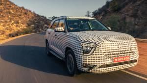 2021 Hyundai Alcazar prototype first drive impressions