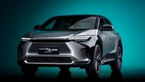 Auto Shanghai 2021: Toyota bZ4X electric SUV concept revealed