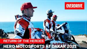 Return of the Heroes | Hero MotoSports at Dakar 2021