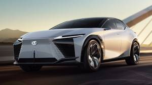Upcoming Lexus EV previewed by LF-Z Electrified concept