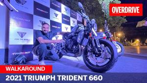 2021 Triumph Trident 660 walk-around review