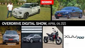 Hyundai Alcazar, Mahindra XUV700, Triumph Trident 660 & More - OVERDRIVE LIVE 9th April 2021